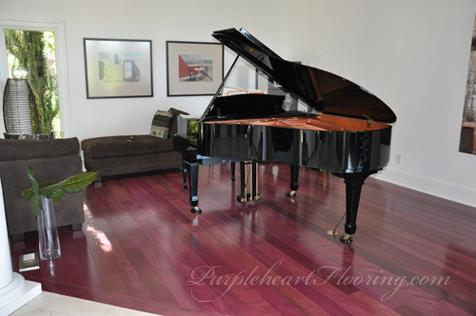 Purpleheart Flooring Picture Gallery